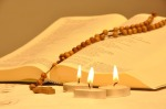 source: https://pixabay.com/en/bible-candles-rosary-third-faith-642449/