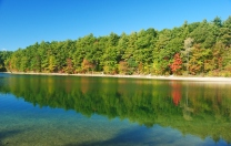 The Walden Pond.